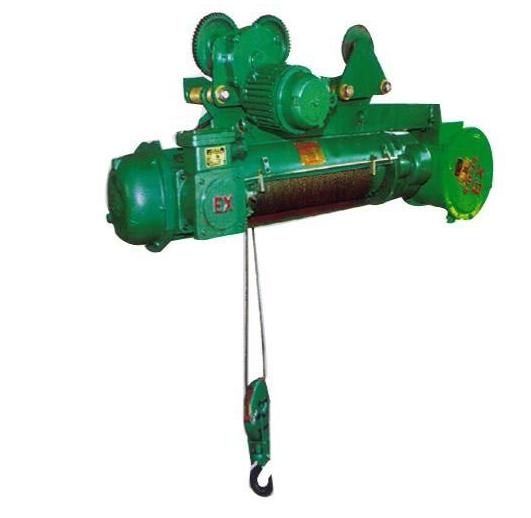 供应优质卫华5t6m 防爆钢丝绳电动葫芦