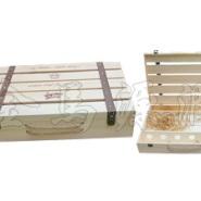 平排六支装木箱,北京酒盒图片