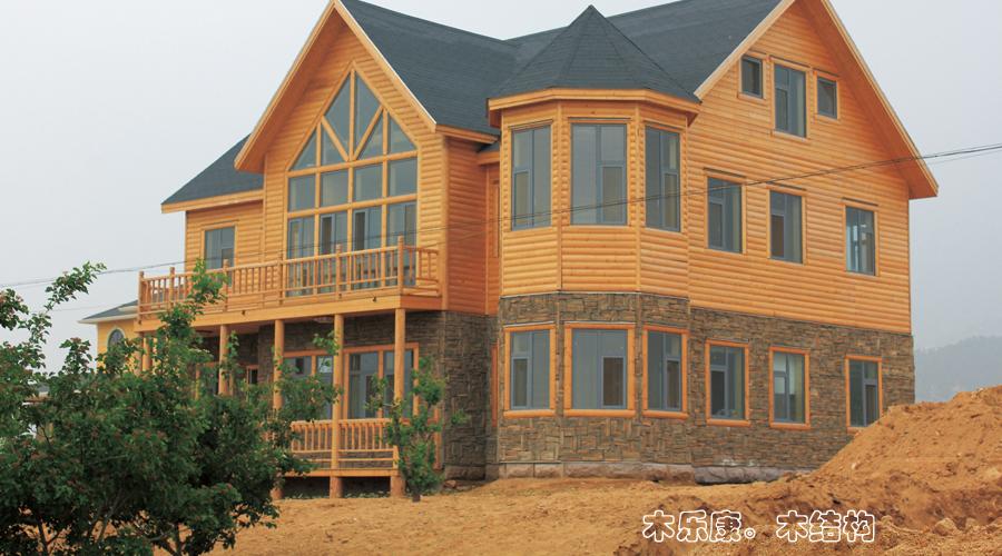【木结构房屋图片大全】木结构房屋图片库