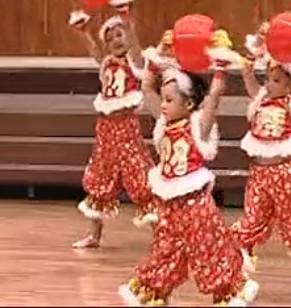 供应河南省儿童节目福字表演舞蹈服装出租定做 批发商供应货源一件代发