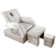郑州定做电动桑拿足浴足疗躺椅子床图片
