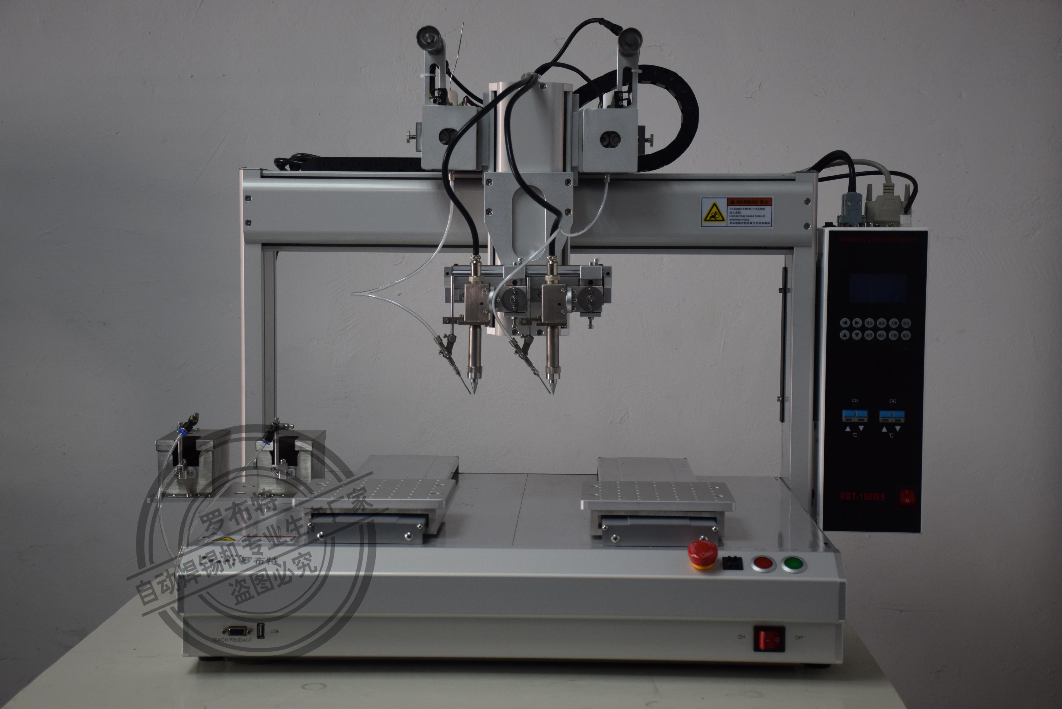 深圳市罗布特进口半自动焊锡机,价格