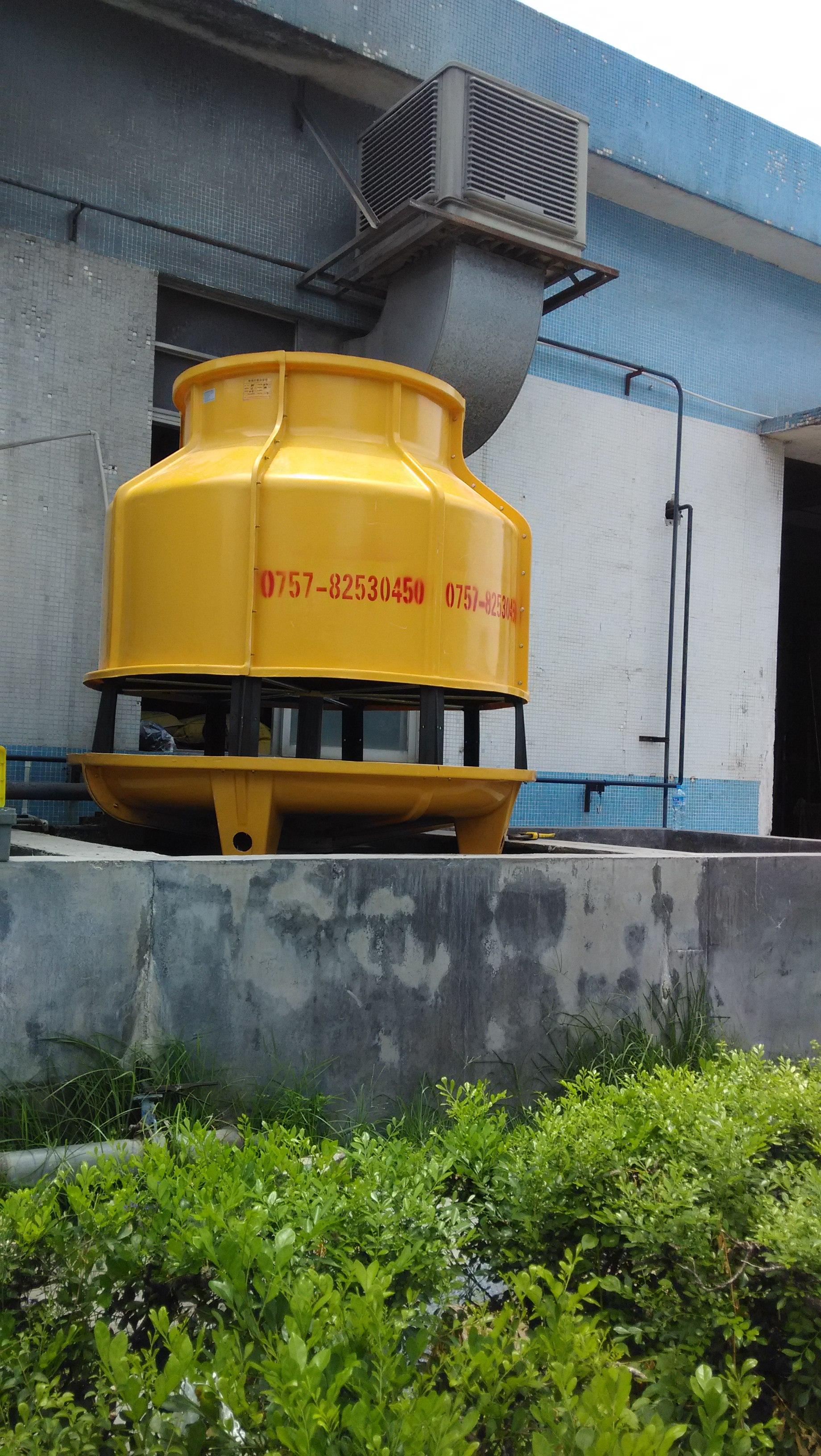 供应江西冷却塔厂家 全部风扇角度均为可调性轴流式,采用高级工程塑料制造,并于厂前严格平衡。