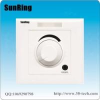 深圳对讲厂家供应SunRing病房电视伴音系统旋钮调音敬老院电视伴音分机TS-A