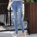 供应女士牛仔裤批发便宜牛仔裤批发时尚牛仔裤低价批发女装牛仔裤小脚裤铅笔裤