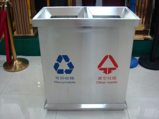 供应金属垃圾桶批发