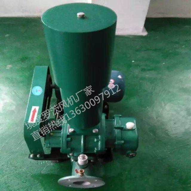 供应用于的水上增氧泵污水处理泵惠州1.5KW三叶罗茨鼓风机50罗茨增
