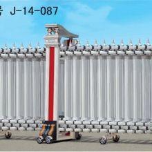 供应泰和豪华不锈钢伸缩门/泰和电动伸缩门