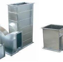供应用于中央空调排风的风管 矩形风管 圆形风管 方直管厂家生产  天津君亿贝科技有限公司价格低质量好图片