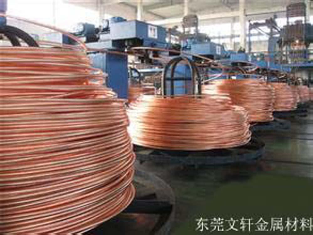 供应用于铆钉的南京红铜线厂家 国内精密度高红铜线生产厂家