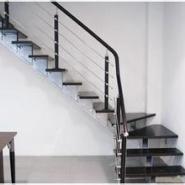 中柱旋转玻璃楼梯图片