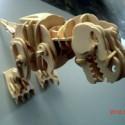 供应东莞木制品生产厂家,夹板3D拼插玩具,儿童DIY益智玩具,木制声控模型玩具厂家定制