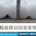 蓬胶棉大棚棉被图片