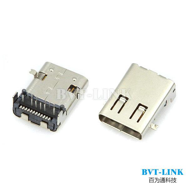深圳USB C TYPE 连接器适用于充电器 移动电源 转接线