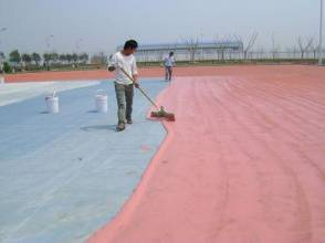 供应用于的云南硅PU球场材料
