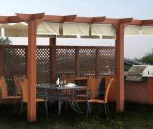 供应用于园林景观的木塑材料凉亭护栏地板本品适用于户外阳台、公园、栈道、台阶踏板广场平台铺装、小区景观道路等