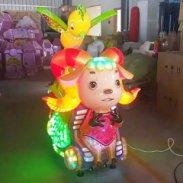 新郑儿童1-7岁投币摇摇车游戏机图片