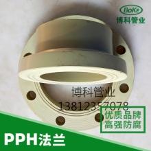 供应PPH带颈法兰、报价、批发、厂家、PPH法兰哪里有、江苏博科产品、化工管道、数量配件批发