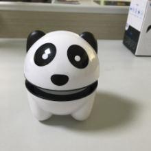 可爱熊猫送礼利器三角电动按摩器