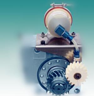 供应用于齿条润滑的激光切割机用自动注油器