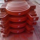 供应用于电厂锅炉的DN500水平管滑动支座 双右拉杆 单耳吊板 夹式管夹 单槽钢吊杆座 整定弹簧支吊架生产厂家