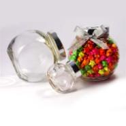 扁鼓造型工艺玻璃瓶图片