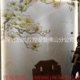 佛山电视背景墙全套工艺 陶瓷背景墙雕刻机 瓷砖精雕机 石材精雕机 墙雕刻机大理石背景墙雕刻机 玉石透光板背景墙雕刻机