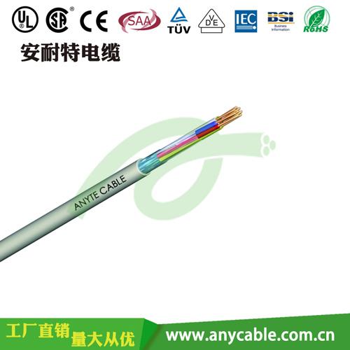 柔性PVC屏蔽控制电缆CY 专业通讯电缆