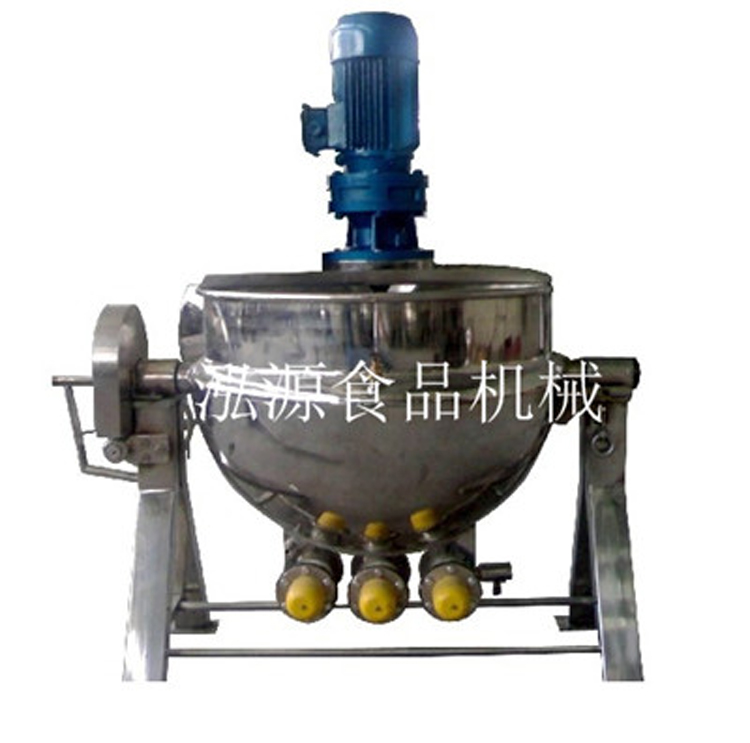 郑州泓源100L电加热夹层锅 蒸煮速度快出品率高