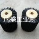 木芯毛刷轮生产厂家 木芯尼龙毛刷轮厂家定制
