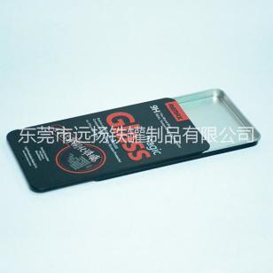 方形推拉铁盒手机保护膜包装铁盒图片