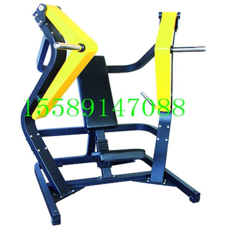 山东布莱特威TA10坐姿下斜推胸训练器室内健身器材多少钱