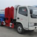 挂桶式垃圾车,5吨国五垃圾车图片
