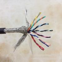 信号传输电缆、14芯双绞屏蔽线、双层屏蔽(编织+铝箔)