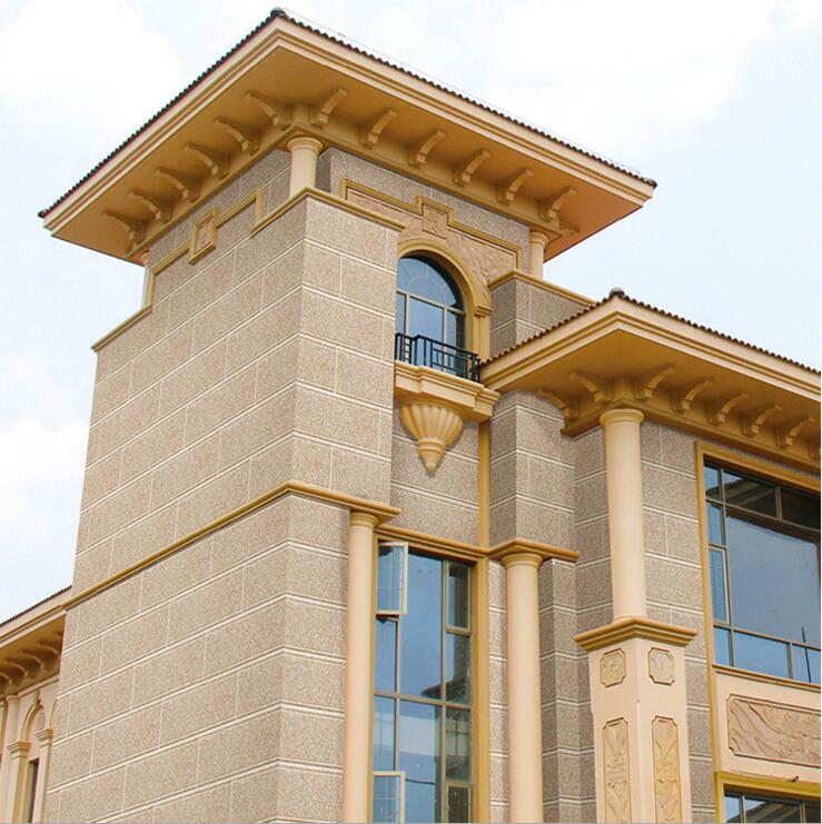 欧式别墅高档砖大理石外墙