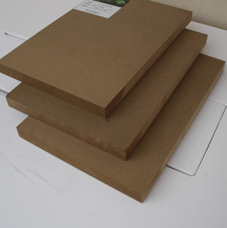 厂家直供20mm高密度阻燃无醛纤维板 防水防潮人造板