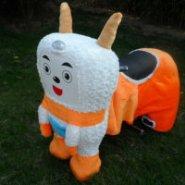 徐州沛县公园电瓶毛绒玩具图片