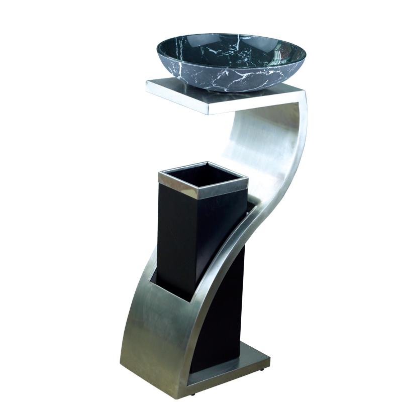 广东各种大堂金属垃圾桶生产批发 酒店大堂垃圾桶 写字楼高档垃圾桶 不锈钢垃圾桶