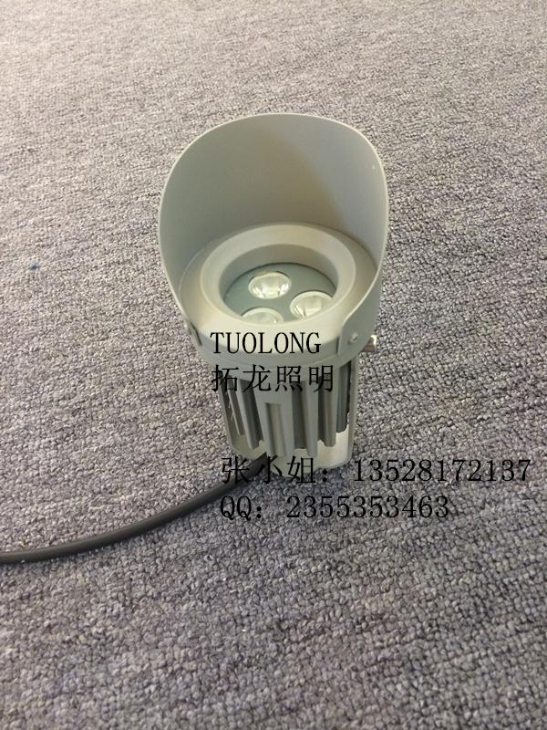3W防眩光LED投光灯 建筑照明