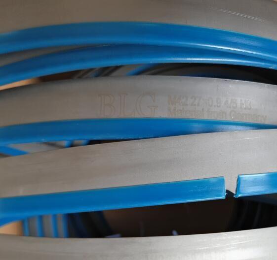 供应济南贝立格双金属带锯条 锯条机加工锯条圆钢不锈钢切割锯条