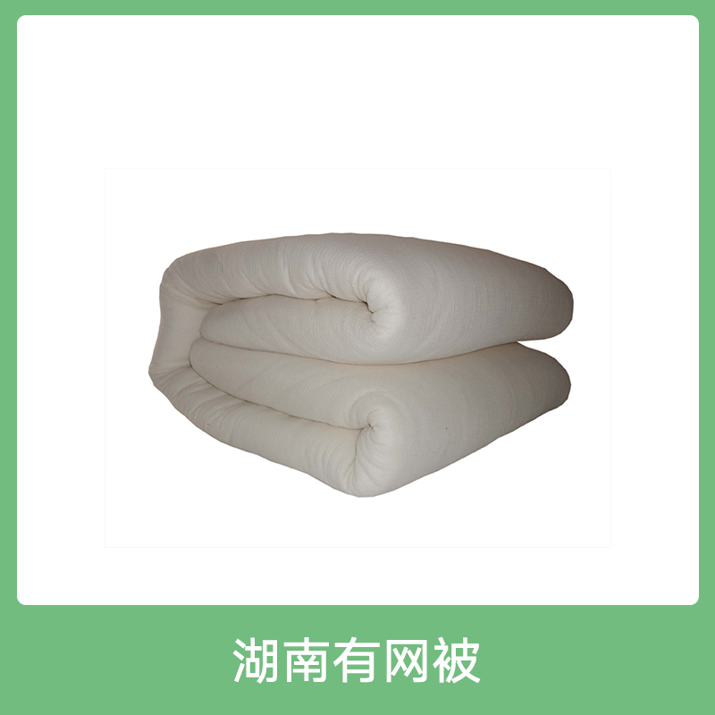湖南有网被 专业生产优质棉花 经济实惠大众化千层雪棉被