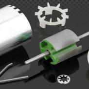 开发生产无刷电机塑胶底座图片