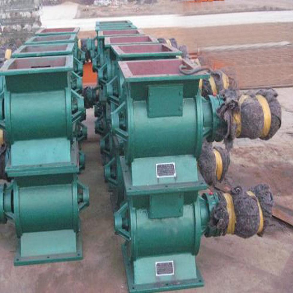 康越环保供应YJD型链传动卸料器 圆口卸料器 闭风器
