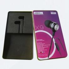 【设计定做】 耳机盒 logo设计印刷马口铁盒 耳机包装盒批发