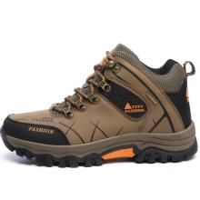 厂家直销高帮户外休闲登山鞋秋冬季越野防滑耐磨徒步保暖加棉男鞋