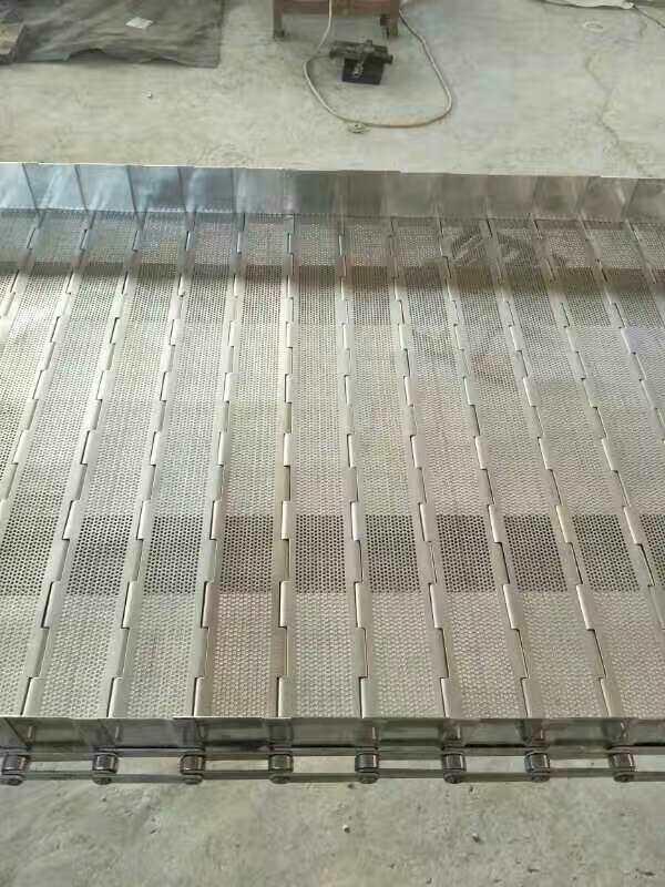 山东正捷链板厂家 生产不锈钢链板 输送链板 耐腐蚀A-698链板直销