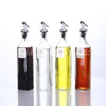 产地货源油瓶玻璃防漏油壶大号醋壶调味瓶酱香油瓶小醋瓶厨房用品批发