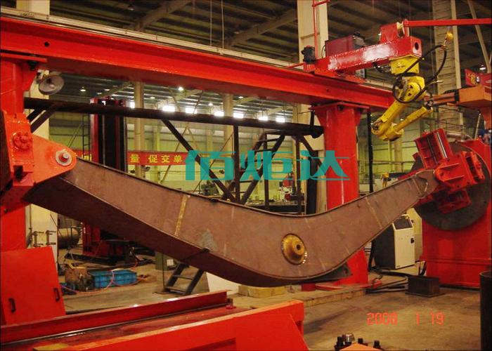 佰炬达设备车架后段主焊缝自动焊接苏州昆山厂家