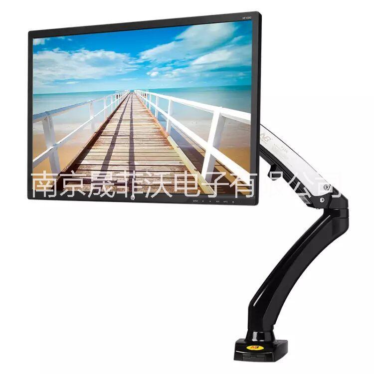 NB F100电脑显示器支架桌面升降挂架17-27寸万向旋转台式增高底座