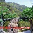 太原生态园大门铸造图片